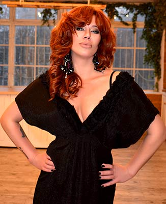 Desire lady Alena from Odessa (Ukraine), 46 yo, hair color red-haired