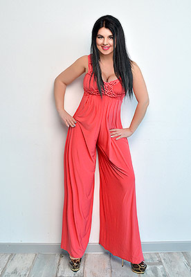 Happy bride Alla from Odessa (Ukraine), 44 yo, hair color brown-haired