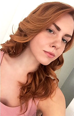 Incredibly bride Valeriya from Moscow (Russia), 19 yo, hair color red