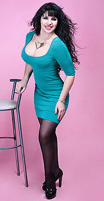Cheerful bride Al'fiya from Chuguev (Ukraine), 46 yo, hair color brunette
