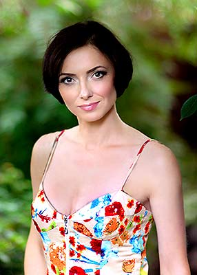 Open bride Natal'ya from Kharkov (Ukraine), 37 yo, hair color black