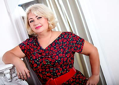 Kind lady Natal'ya from Khmelnitsky (Ukraine), 58 yo, hair color blonde