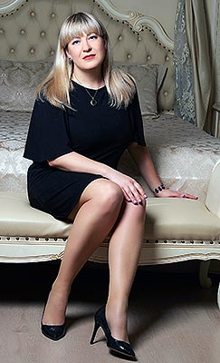 Honest lady Tat'yana from Kiev (Ukraine), 35 yo, hair color blonde