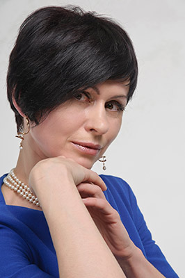Talented woman Alla from Kiev (Ukraine), 51 yo, hair color black