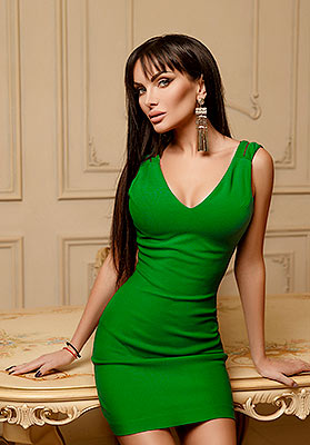 Serious lady Evgeniya from Mariupol (Ukraine), 31 yo, hair color brown