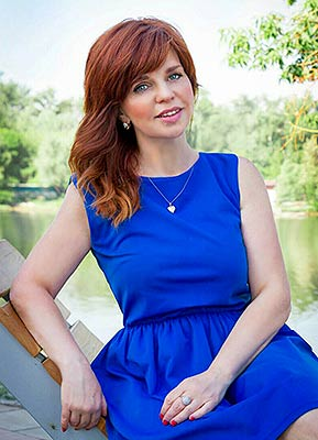 Good lady Marina from Kiev (Ukraine), 51 yo, hair color red-haired