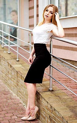 Honest girl Evgeniya from Severodonetsk (Ukraine), 22 yo, hair color blonde