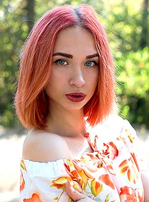 Frank lady Elena from Nikolaev (Ukraine), 18 yo, hair color red-haired