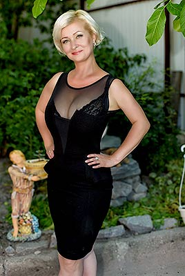 Womanly bride Marina from Poltava (Ukraine), 43 yo, hair color blonde
