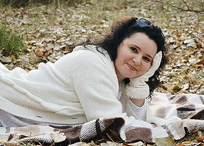 Sensitive bride Tat'yana from Kiev (Ukraine), 42 yo, hair color brunette