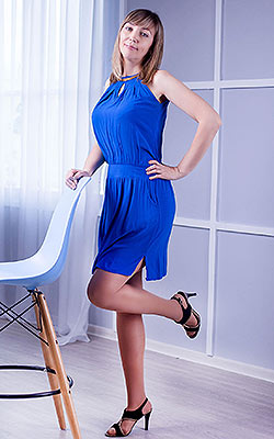 Kind lady Tat'yana from Zaporozhye (Ukraine), 42 yo, hair color blonde