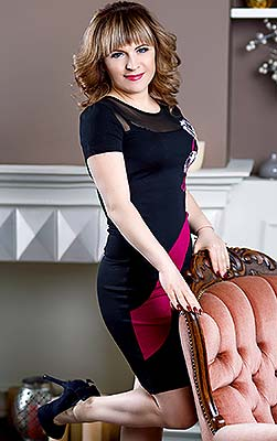 Marriageminded lady Elena from Zaporozhye (Ukraine), 42 yo, hair color chestnut