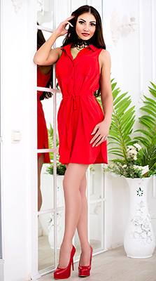 Romantic bride Elena from Cherkassy (Ukraine), 34 yo, hair color brown-haired
