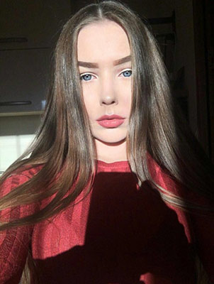 Stubborn girl Anastasiya from Dnepropetrovsk (Ukraine), 19 yo, hair color chestnut