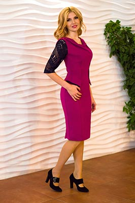Cheerful bride Natal'ya from Kiev (Ukraine), 34 yo, hair color blonde