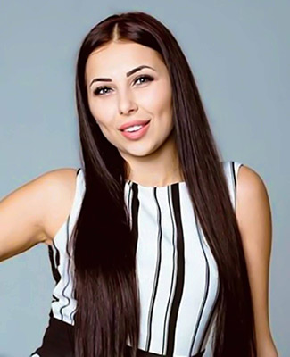 Real lady Irina from Dnipro (Ukraine), 27 yo, hair color dark brown