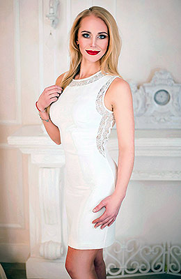 Honest bride Anastasiya from Lugansk (Ukraine), 36 yo, hair color blonde