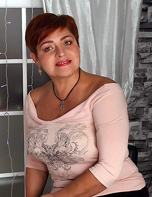 Harmonious bride Elena from Dnipro (Ukraine), 54 yo, hair color brown-haired