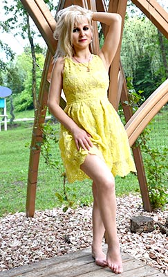 Kind woman Anna from Simferopol (Russia), 45 yo, hair color blonde