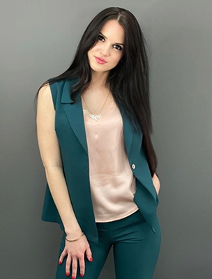 Alone bride Svetlana from Kiev (Ukraine), 26 yo, hair color black