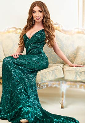 Intelligent bride Ul'yana from Ivano-Frankovsk (Ukraine), 30 yo, hair color brown