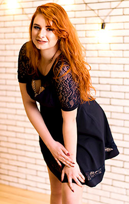 Sweet girl Viktoriya from Starobelsk (Ukraine), 25 yo, hair color red