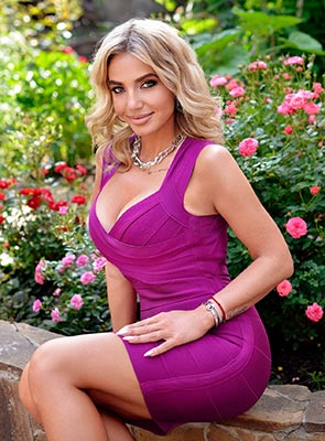 Kind lady Natal'ya from Kharkov (Ukraine), 37 yo, hair color blonde