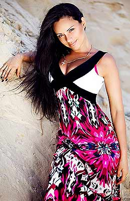 Positive bride Natal'ya from Kharkov (Ukraine), 33 yo, hair color brown-haired
