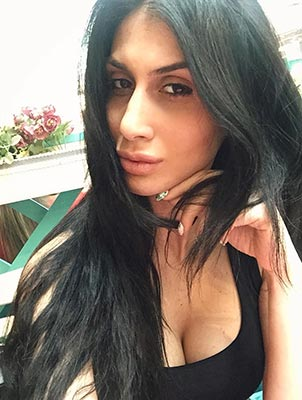 Sociable lady Tamara from Kharkov (Ukraine), 30 yo, hair color black