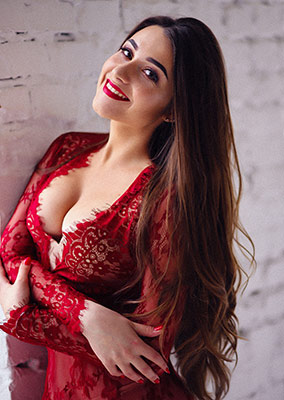 Blonde woman Valeriya from Lvov (Ukraine), 26 yo, hair color chestnut