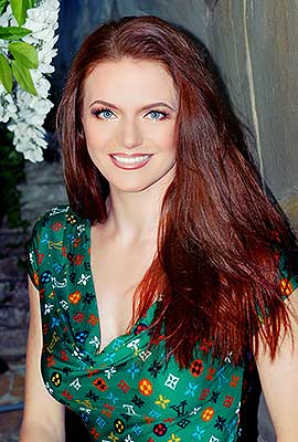 Kind bride Irina from Kharkov (Ukraine), 42 yo, hair color red-haired
