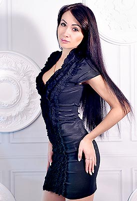Capricorn Bride Anastasiya From Kharkov Ukraine 28 Yo Hair Color Black