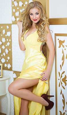 Open bride Anna from Kharkov (Ukraine), 31 yo, hair color blonde