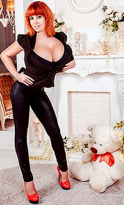 Humble lady Anna from Kharkov (Ukraine), 34 yo, hair color red-haired