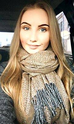 Tender bride Alena from Kharkov (Ukraine), 30 yo, hair color light brown