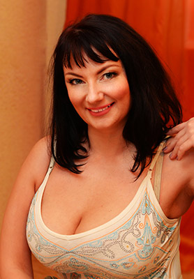 Intellegent lady Mariya from Kharkov (Ukraine), 39 yo, hair color black