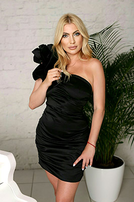 Selfconfident wife Inna from Kiev (Ukraine), 41 yo, hair color blonde