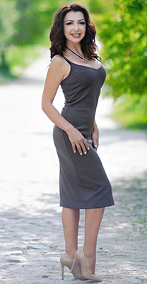 Emotional bride Vera from Kharkov (Ukraine), 35 yo, hair color chestnut