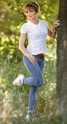 Sociable bride Elena from Kharkov (Ukraine), 41 yo, hair color blonde