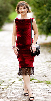 Kindhearted lady Elena from Kharkov (Ukraine), 45 yo, hair color brown-haired
