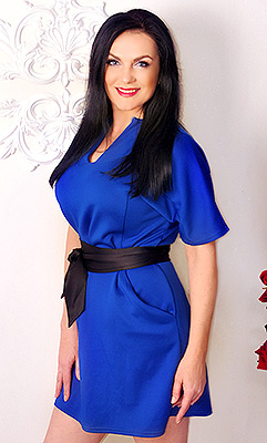 Extraordinary bride Lyubov' from Kharkov (Ukraine), 48 yo, hair color black