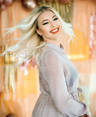 Kind bride Svetlana from Kherson (Ukraine), 35 yo, hair color blonde