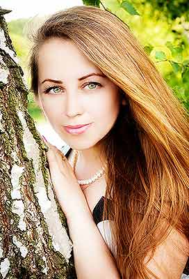 Positive woman Natal'ya from Khmelnitsky (Ukraine), 31 yo, hair color brown