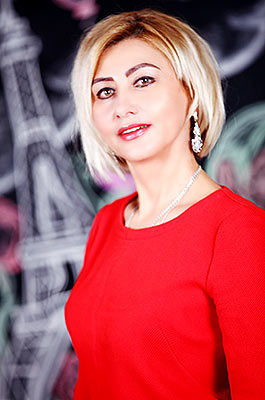 Cheerful lady Tat'yana from Khmelnitsky (Ukraine), 53 yo, hair color blonde