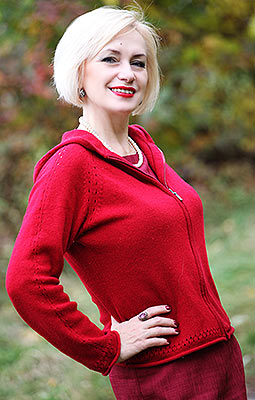 Affectionate lady Alla from Khmelnitsky (Ukraine), 49 yo, hair color brown