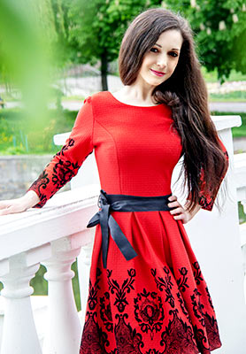 Pleasant woman Tat'yana from Khmelnitsky (Ukraine), 38 yo, hair color dark brown