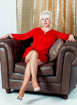 Cheerful lady Lyudmila from Irpen (Ukraine), 49 yo, hair color blonde