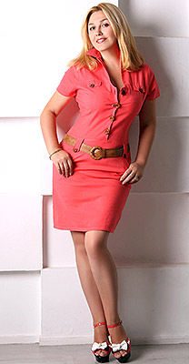 Nonconflict woman Elena from Kiev (Ukraine), 44 yo, hair color blonde