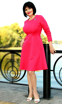Optimistic lady Natal'ya from Kiev (Ukraine), 58 yo, hair color brown-haired