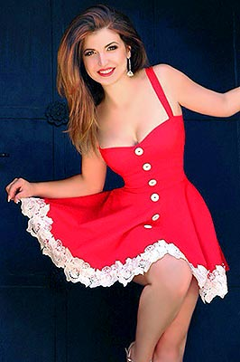 Calm woman Vera from Odessa (Ukraine), 32 yo, hair color brown-haired